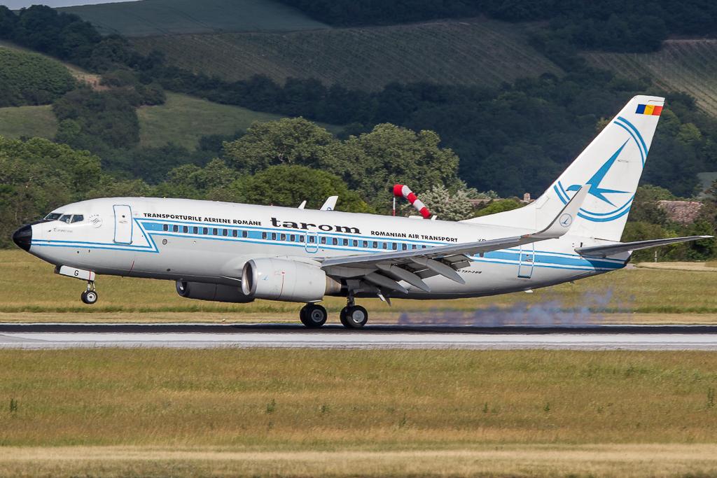 Tarom 'Retro Livery' YR-BGG, Boeing 737
