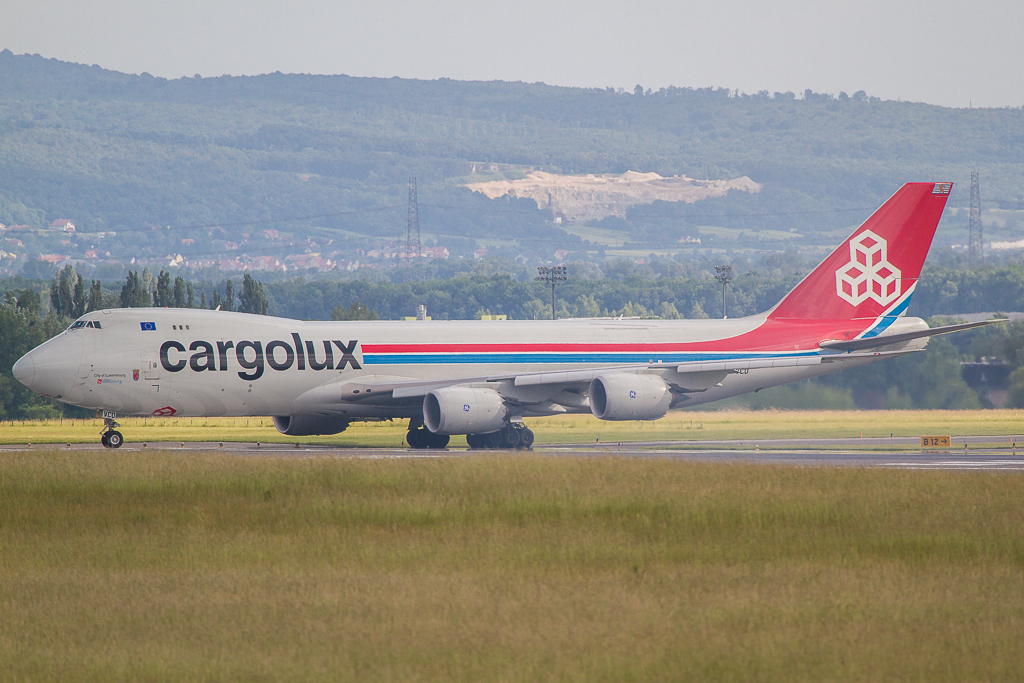 Cargolux LX-VCD, Boeing 747-8