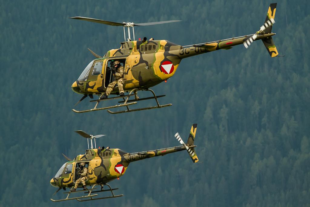 Ö.Luftstreitkräfte - OH-58 'Kiowa'