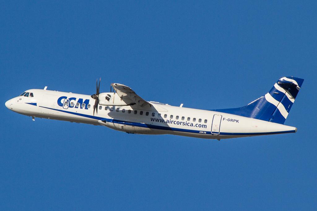 Air Corsica F-GRPK, ATR-72
