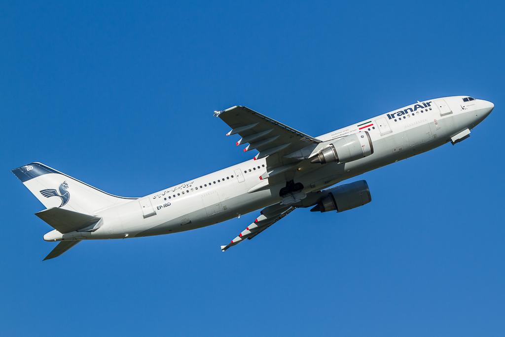 Iran Air EP-IBD, Airbus A300