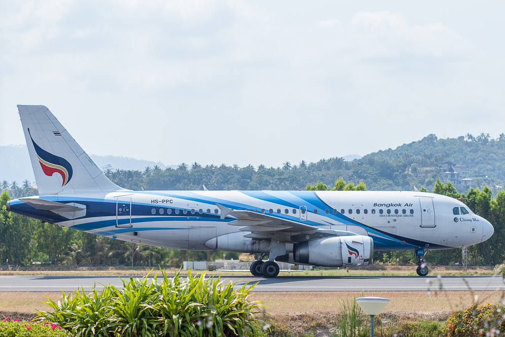 Bangkok Airways HS-PPC, Airbus A319