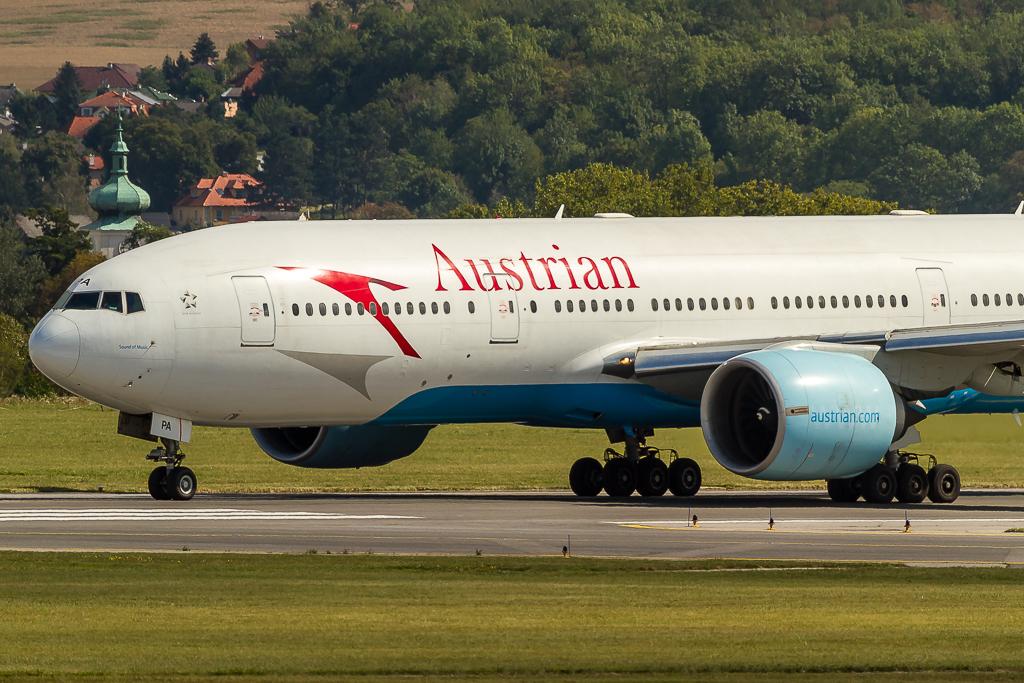 Austrian OE-LPA, Boeing 777