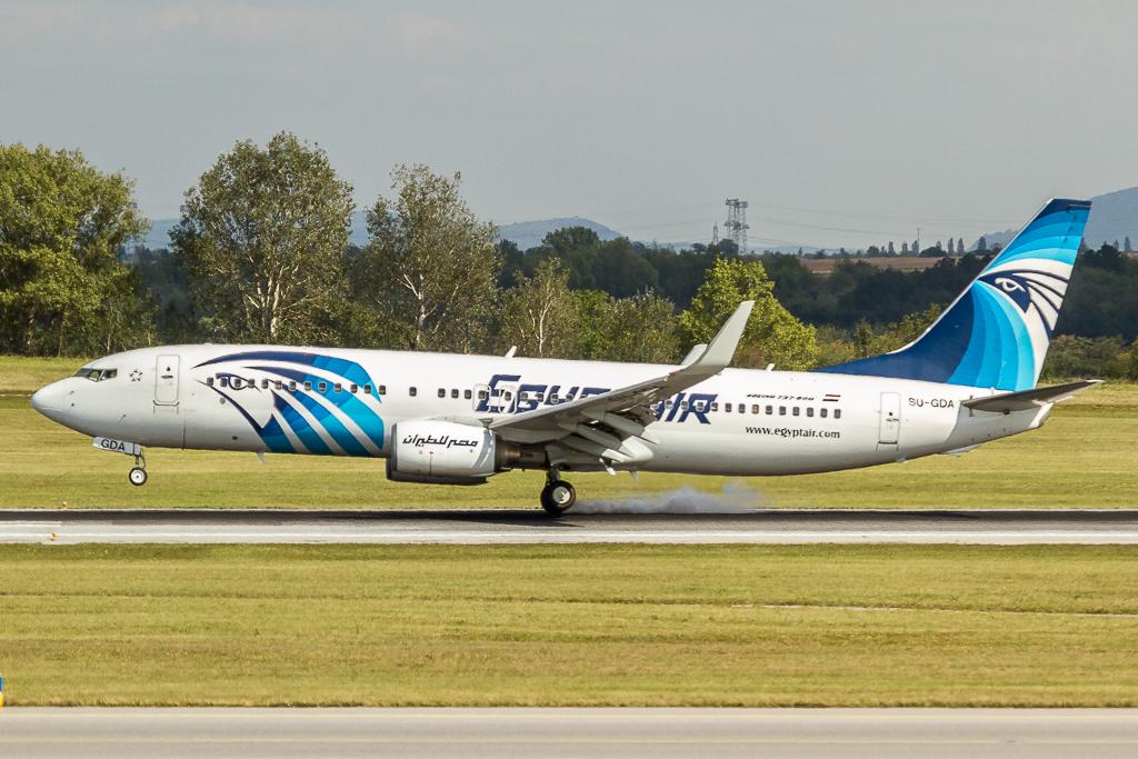 Egypt Air SU-GDA, Boeing 737