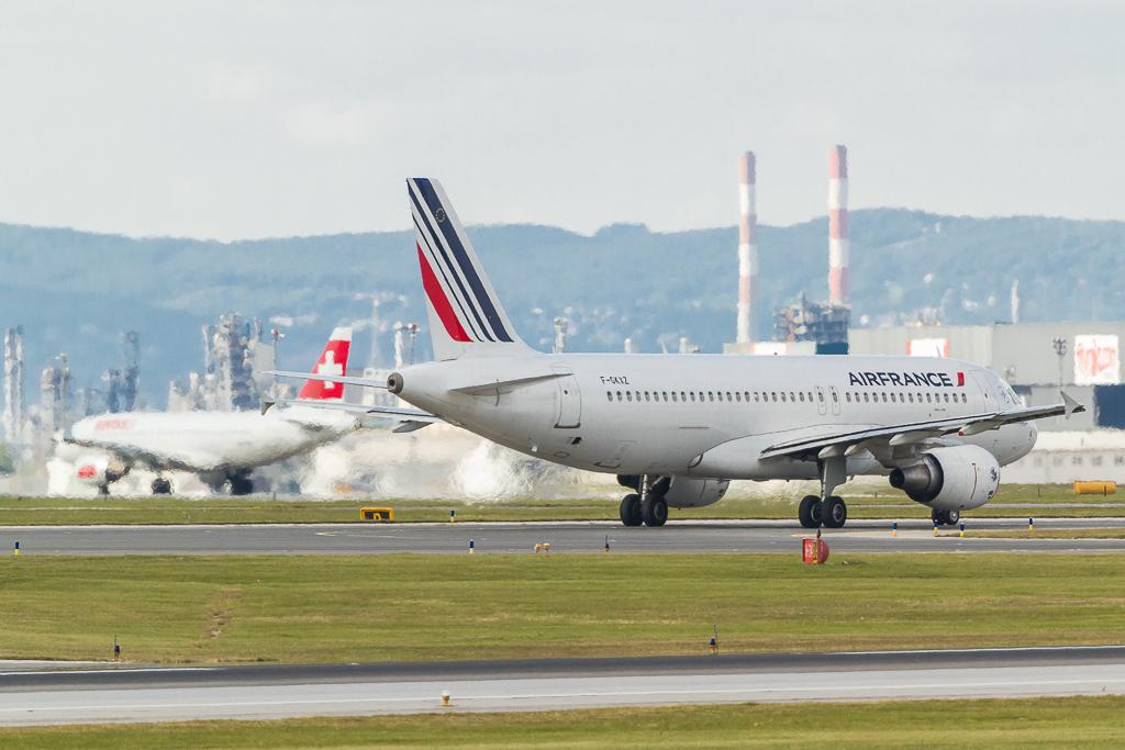 Air France F-GKXZ, Airbus A320