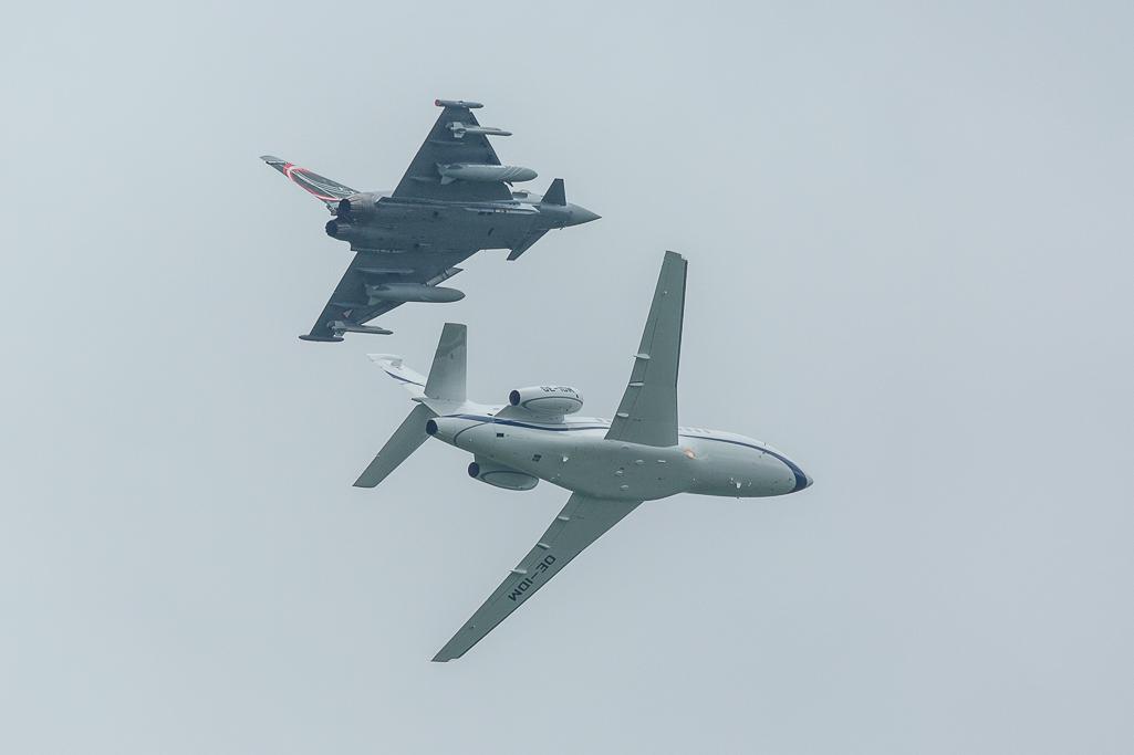 "Ö.Luftstreitkräfte - Eurofighter Typhoon & Dassault Falcon 900EX ""Flying Bulls"""