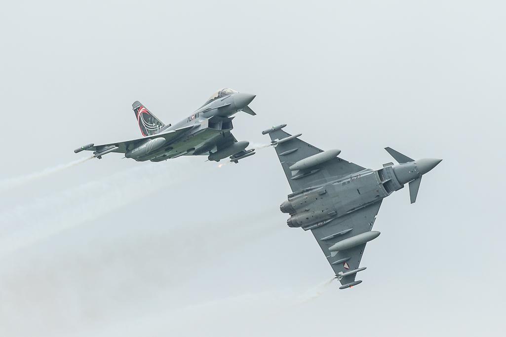 Ö.Luftstreitkräfte - 2x Eurofighter Typhoon