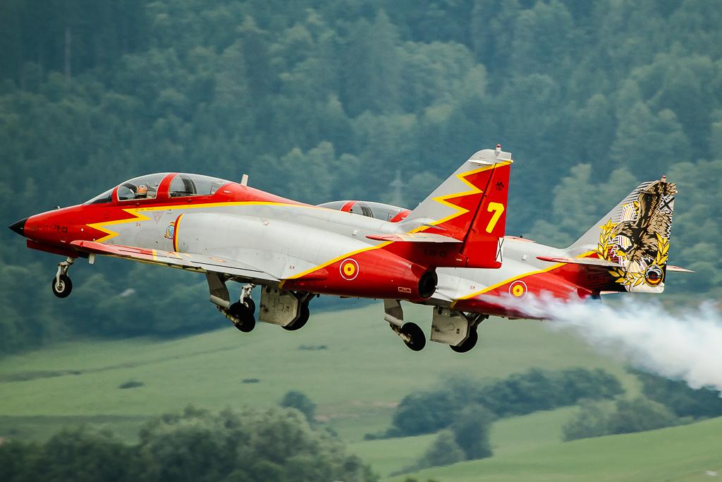 Patrulla Águila - CASA C 101 Aviojet