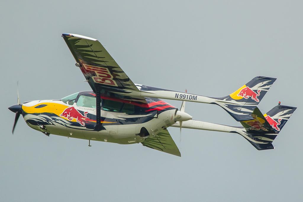 """The Flying Bulls - Cessna C 337 D """"push-pull"""" N991DM"""