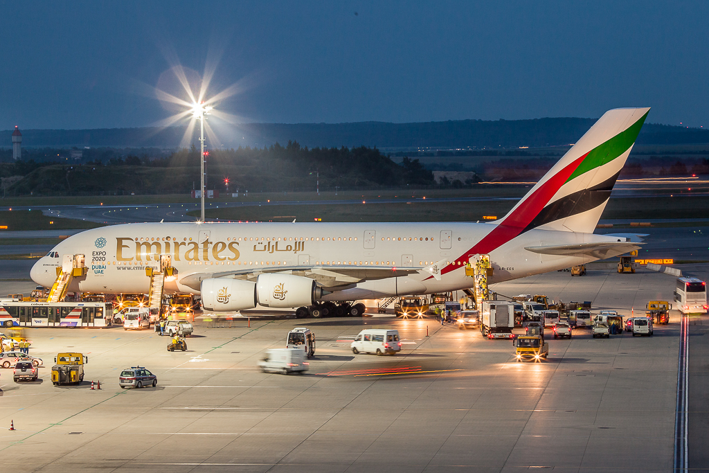 Emirates A6-EES, Airbus A380-800