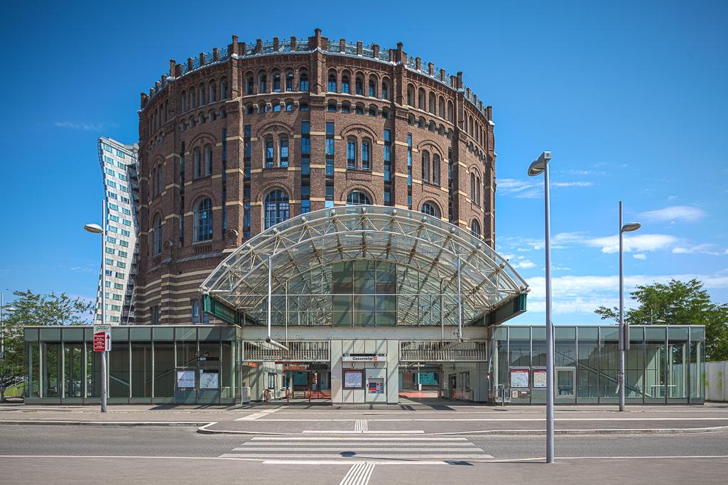 Gasometer Wien